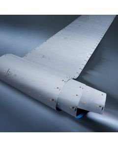 "Z-Flex980 Pro Seoul LED Strip warm white 3000K 32400lm 53 LEDs/ft 18.37ft reel 11"" wide 24V (1753lm/ft 12W/ft)"