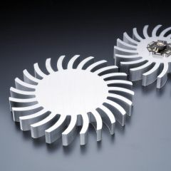 Heatsink swing-style 85mm for LEDs <1800lm