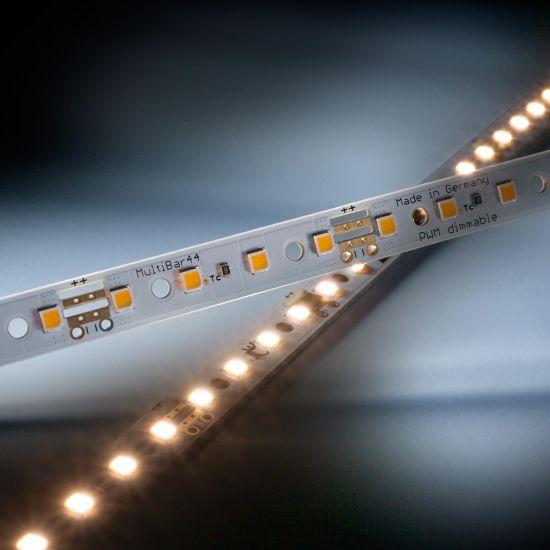 Multibar 44 Nichia LED Strip warm white CRI90 3000K 732lm 24V 44 LEDs 19.68in/50cm bar (447lm & 4W/ft)