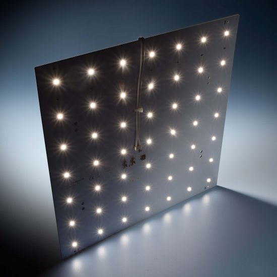 Nichia LED Module BackMatrix 49 Professional 11.41in/29x29cm 70 LEDs 24V 120 deg White 3000K 16.8W 2090lm