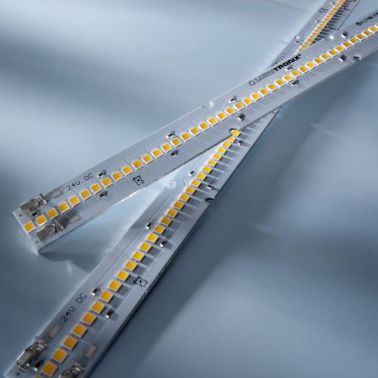 Maxline 70 Nichia LED Strip warm white 3000K 2080lm 700mA 70 LEDs 11.02in/28cm module (2265lm & 15W/ft)
