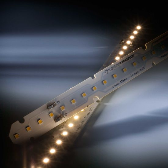 LinearZ 26 Toshiba-SSC LED Strip Zhaga Sunlike CRI97 cold white 6500K 730lm 175mA 39.6V 26 LEDs 11.02in/28cm module (795lm & 7.6W/ft)