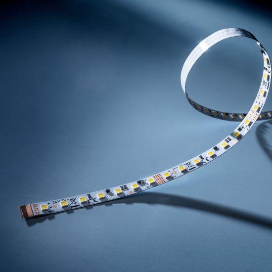 LumiFlex560 PRO Nichia LED Strip 2 in 1 TW 2700-6500K 4450lm 24V 34 LEDs/ft 5m/16ft reel (270lm/ft and 2.32W/ft)