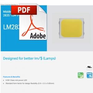 Samsung LED Datasheet