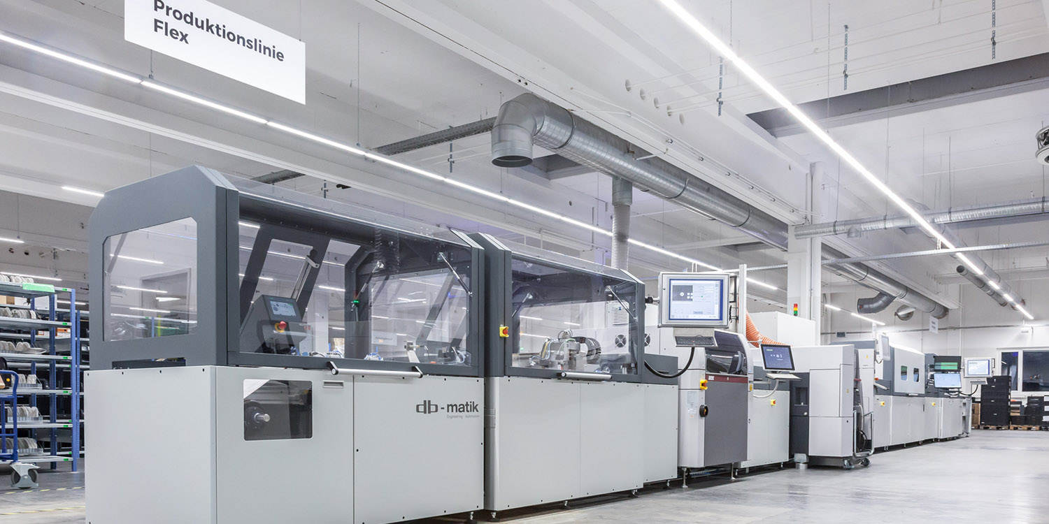 The new Flex production line in Germany