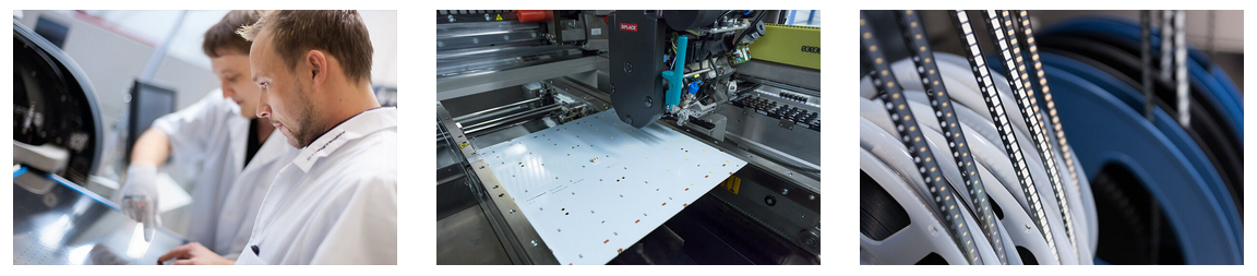 Nichia LED modules production