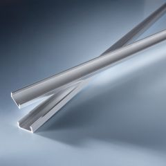 Open end cap for Aluflex Aluminum Profile narrow low height 1020mm