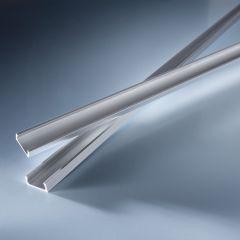 Open end cap for Aluflex Aluminum Profile narrow low height 1020mm