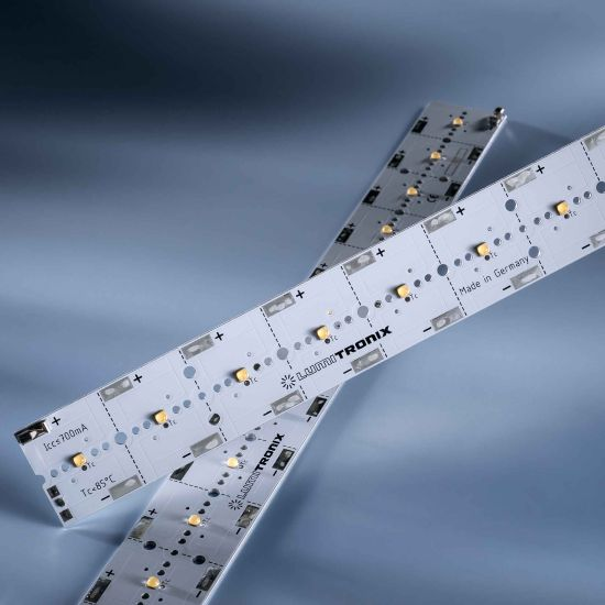 PowerBar V3 LED Module Aluminium neutral white 4000K 3100lm 700mA 12x Osram Oslon LEDs 11.41in/29cm (3304lm/ft)