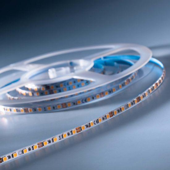 SlimFlex 240 Pro Nichia LED Strip warm white CRI90 2700K 3900lm 24V 120 LEDs/m 7ft/2m reel (595lm & 5.5W/ft)