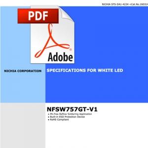 Nichia 757 LED datasheet