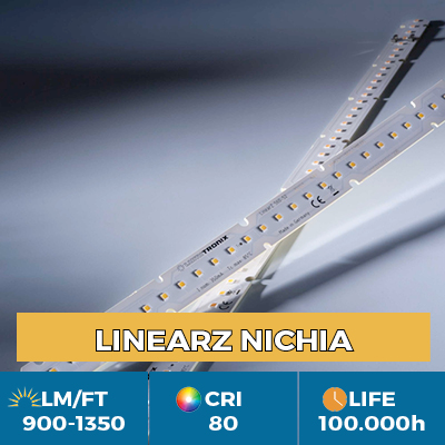 Professional LinearZ LED bar, Plug & Play Zhaga, luminous flux up to 1350 lm / ft