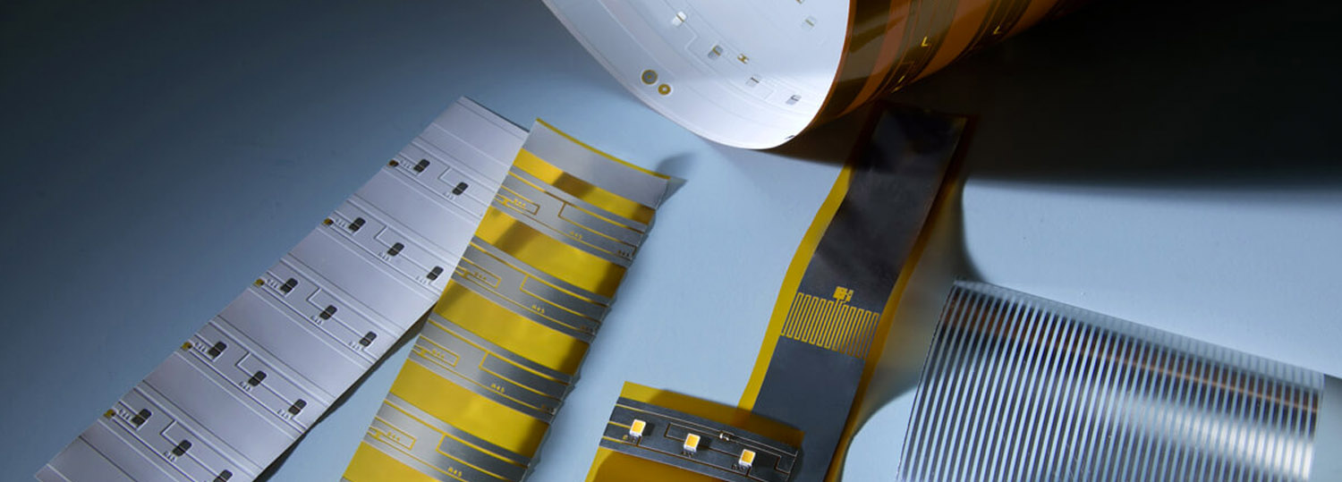 Our innovative manufacturing technology with the patented process of plasma direct metallization turns flexible substrates into electrical conductive and solderable circuit boards.