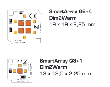 Module Smart Array Dim2Warm