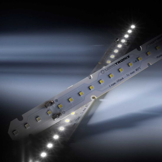 LinearZ 26 Toshiba-SSC LED Strip Zhaga Sunlike CRI97 cold white 5700K 695lm 175mA 37.5V 26 LEDs 11.02in/28cm module (758lm & 7.2W/ft)