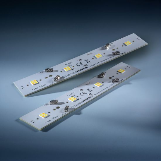Daisy 16 Nichia LED Strip Tunable White 2700-4000K 360+340lm 175mA 11.5V 14 LEDs 16cm module (up to 1450lm/ft and 8W/ft)