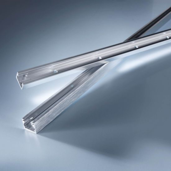 Aluminum profile Alubar chrome for Multibar LED strips 50cm