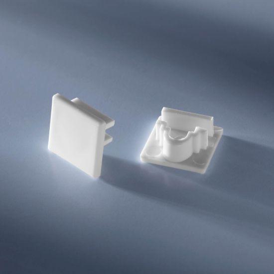 Closed end cap for Alubar Aluminum profile for LED Strips 50cm