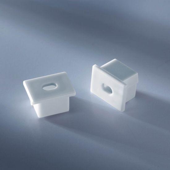Open end cap for  Aluflex Aluminum Profile for LED strips deep 1020mm