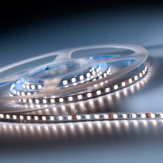 SlimFlex 240 Pro Nichia LED Strip neutral white CRI90 4000K 4240lm 24V 120 LEDs/m 7ft/2m reel (647lm & 5.5W/ft)