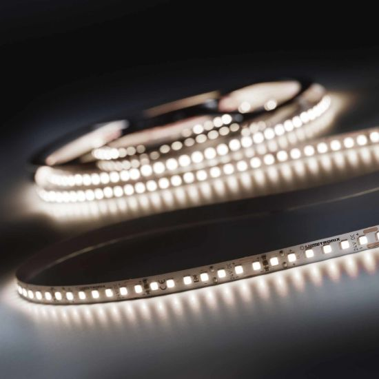 LumiFlex 700 Pro Nichia LED Strip neutral white CRI90 4000K 12150lm 24V 140 LEDs/m 16ft/5m reel (741lm & 1.2W/ft)