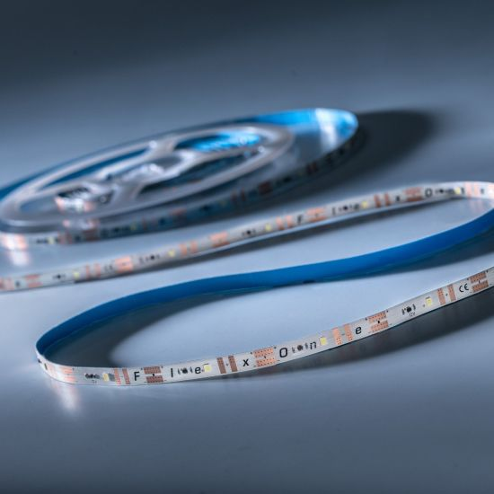 FlexOne 100 Samsung LED Strip cold white 6500K 6640lm 12V 20 LEDs/m 16ft/5m reel (405lm & 5.2W/ft)