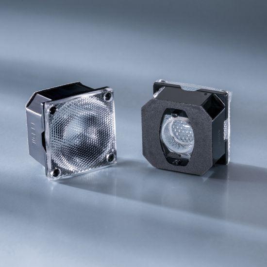 Ledil Lens FCA15008_G2-ROSE-UV-M 26 deg for Nichia UV LED NVSU233A and PowerBar V3 UV 365, 385cm
