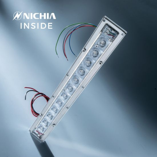 Violet UVC Nichia LED Module 280nm 12 NCSU334B LEDs 882mW 29cm 1050mA for disinfection and sterilization