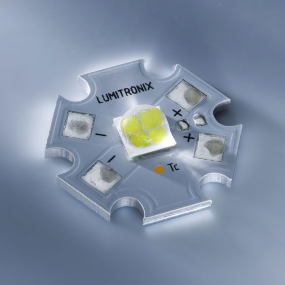 Cree XHP70 LED coldwhite 6200K 1710lm with PCB (Star)