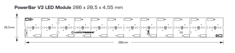 PowerBarV3 LED Module