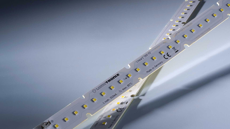 Nichia 757 Optisolis LED strips: LinearZ with CRI98 + and light output up to 2600 lm / m