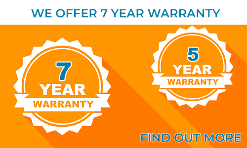 We offer up to 7 years warranty for our LED strips and Modules